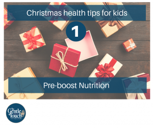 christmas Health Tips for Kids - Pre-boost Nutrition