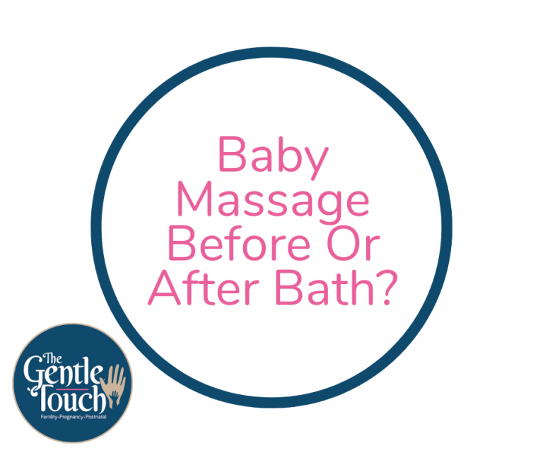 Massage before or after bath