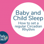 blog post cover image baby and child sleep